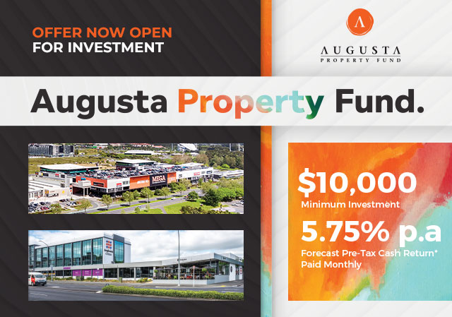 Augusta Property Fund - Offer Now Open
